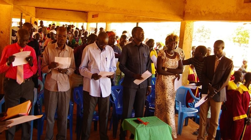 Prayer of the South Sudan Council of Churches in Yirol